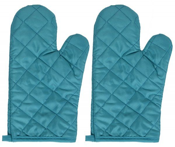 Kuber Industries Cotton 2 Pieces Oven Gloves set (Multi)