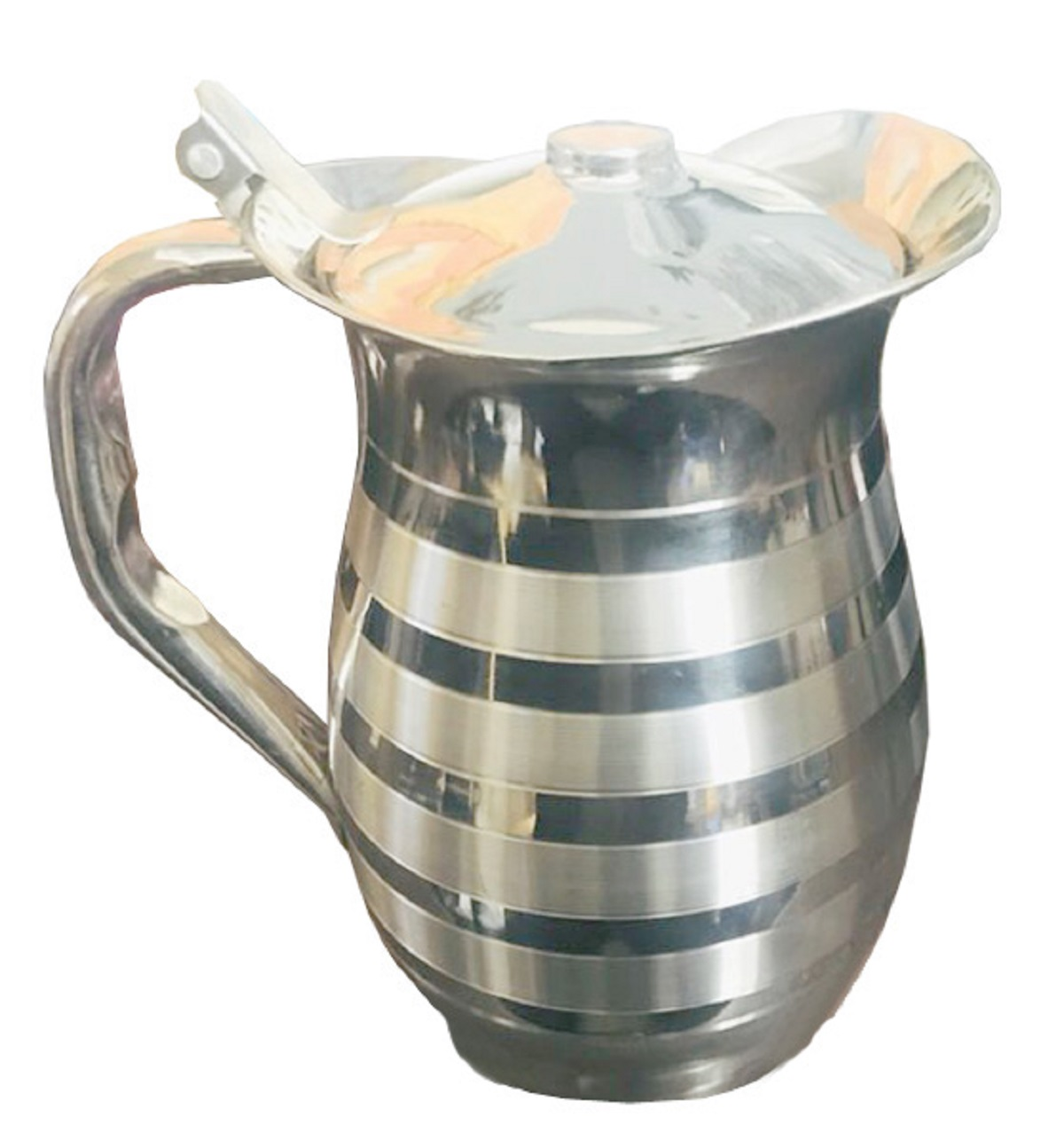 Kuber Industries Pure Stainless Steel Jug Pitcher 1500 Ml