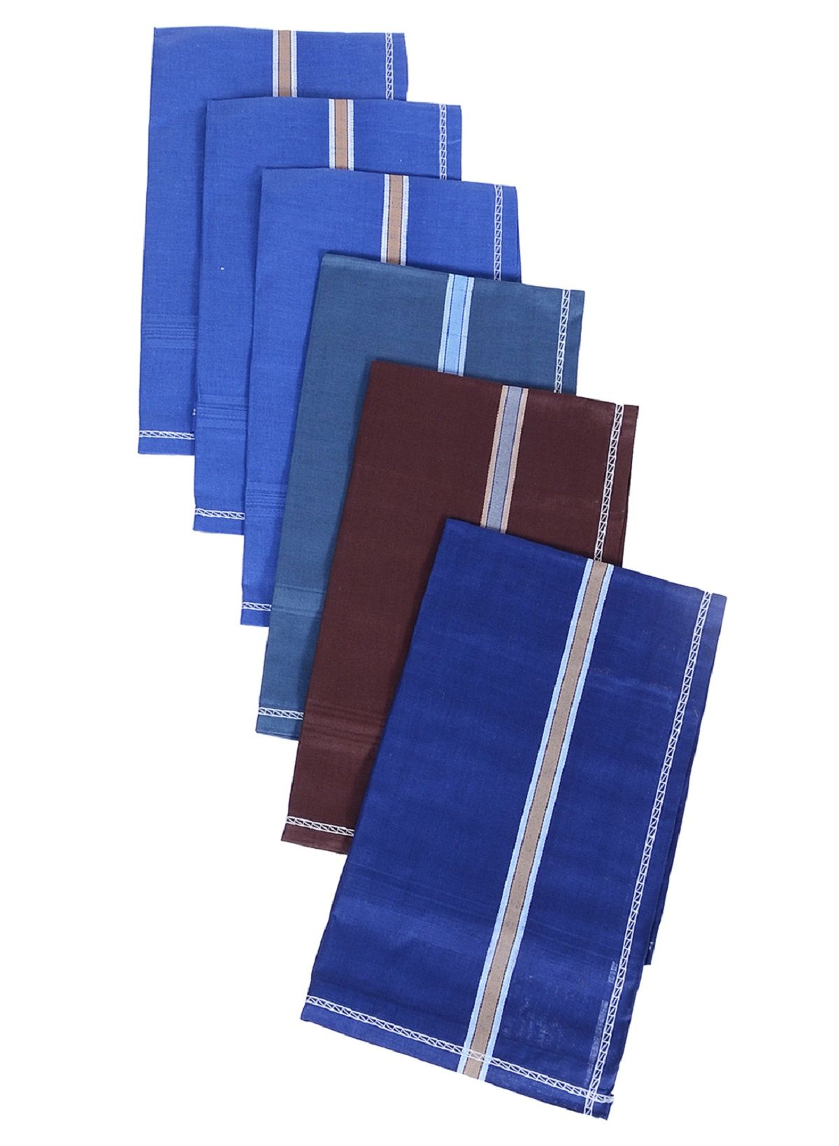 Kuber Industries Cotton 12 Pieces Handkerchief set (Multi)