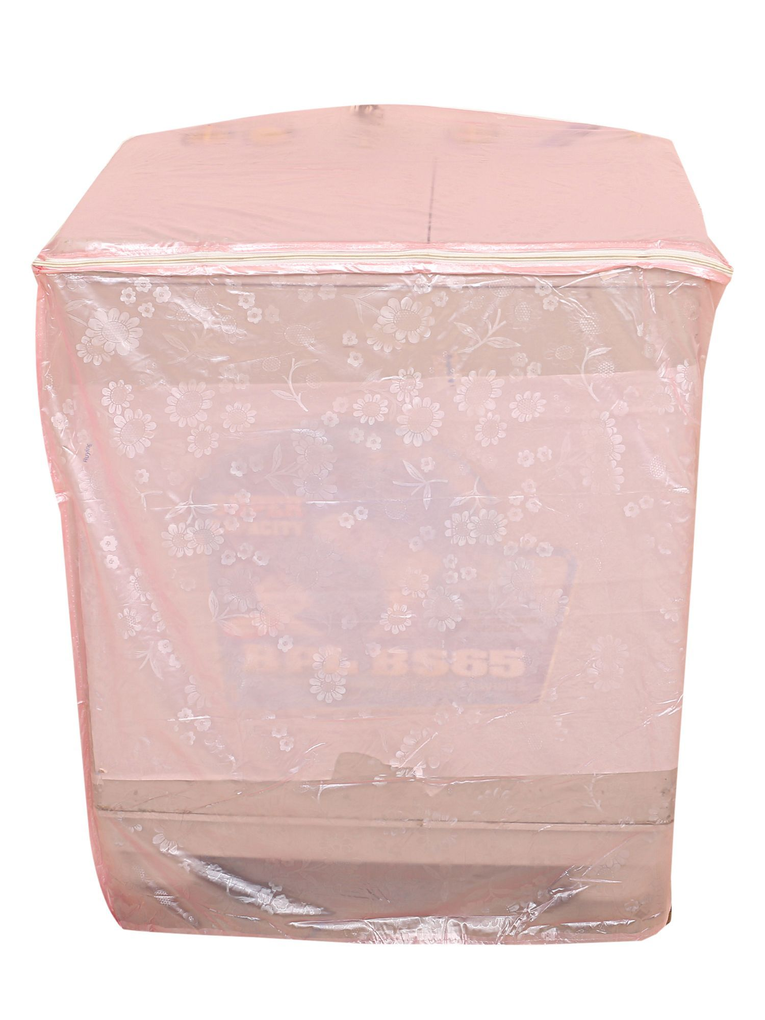 Kuber Industries Top Load Semi Automatic Washing Machine Cover (Light Pink)
