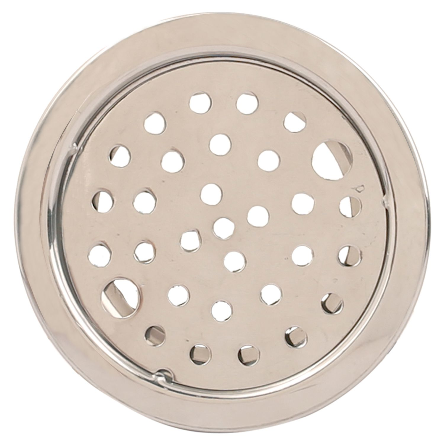 """Kuber Industries Steel Lock Jali/Floor Drain Cover Pack of 12 , 5""""x5"""" """