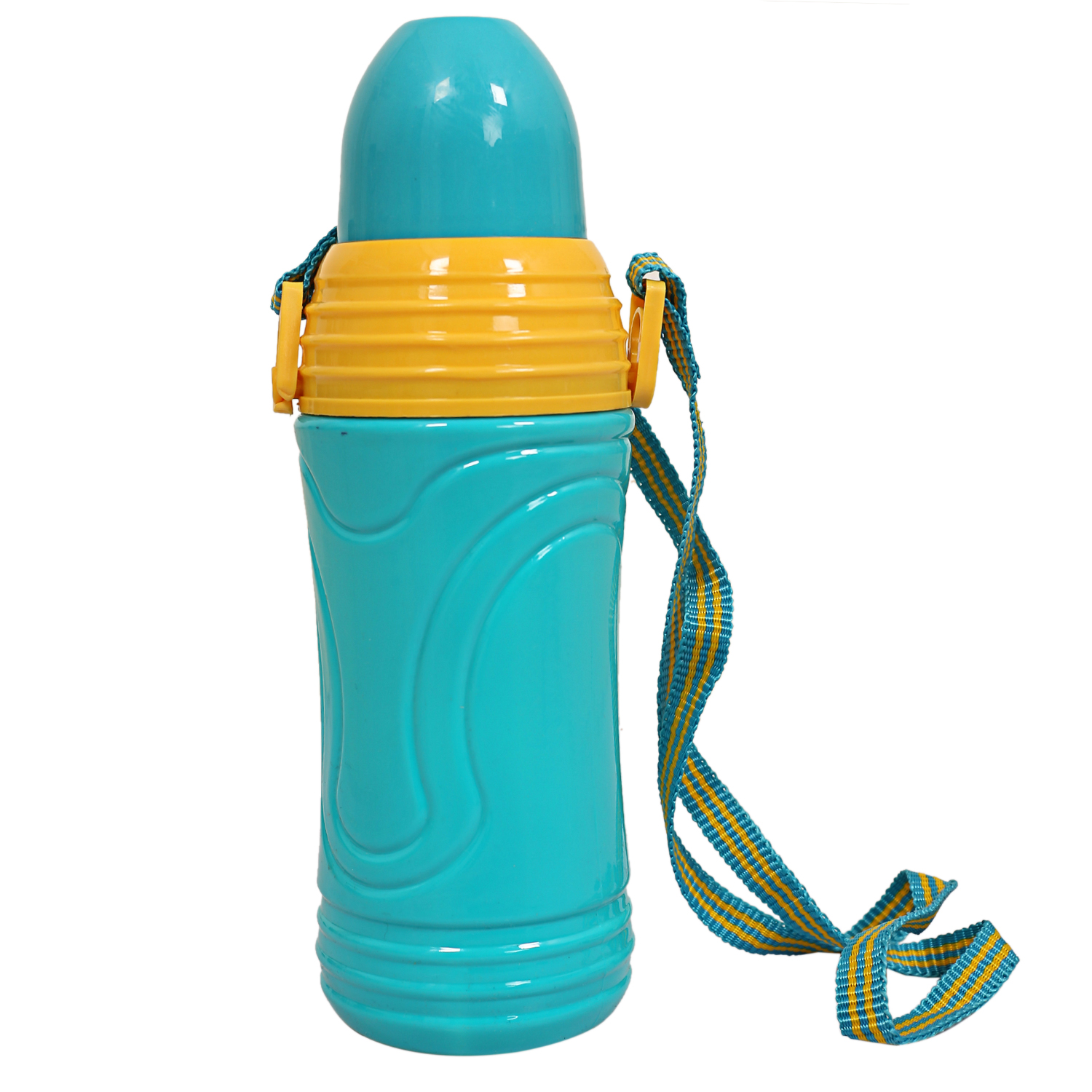 Kuber Industries Plastic 2 Pieces School /Kids Water Bottle (Green)-CTKTC3640