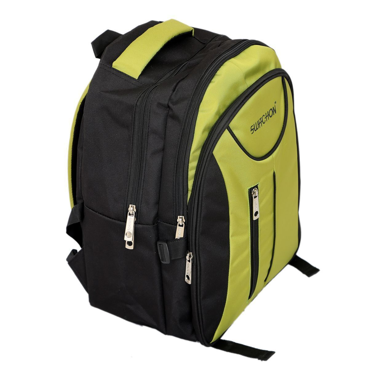 Kuber Industries 25 Ltrs School Bag Backpack (Green) - KI9008