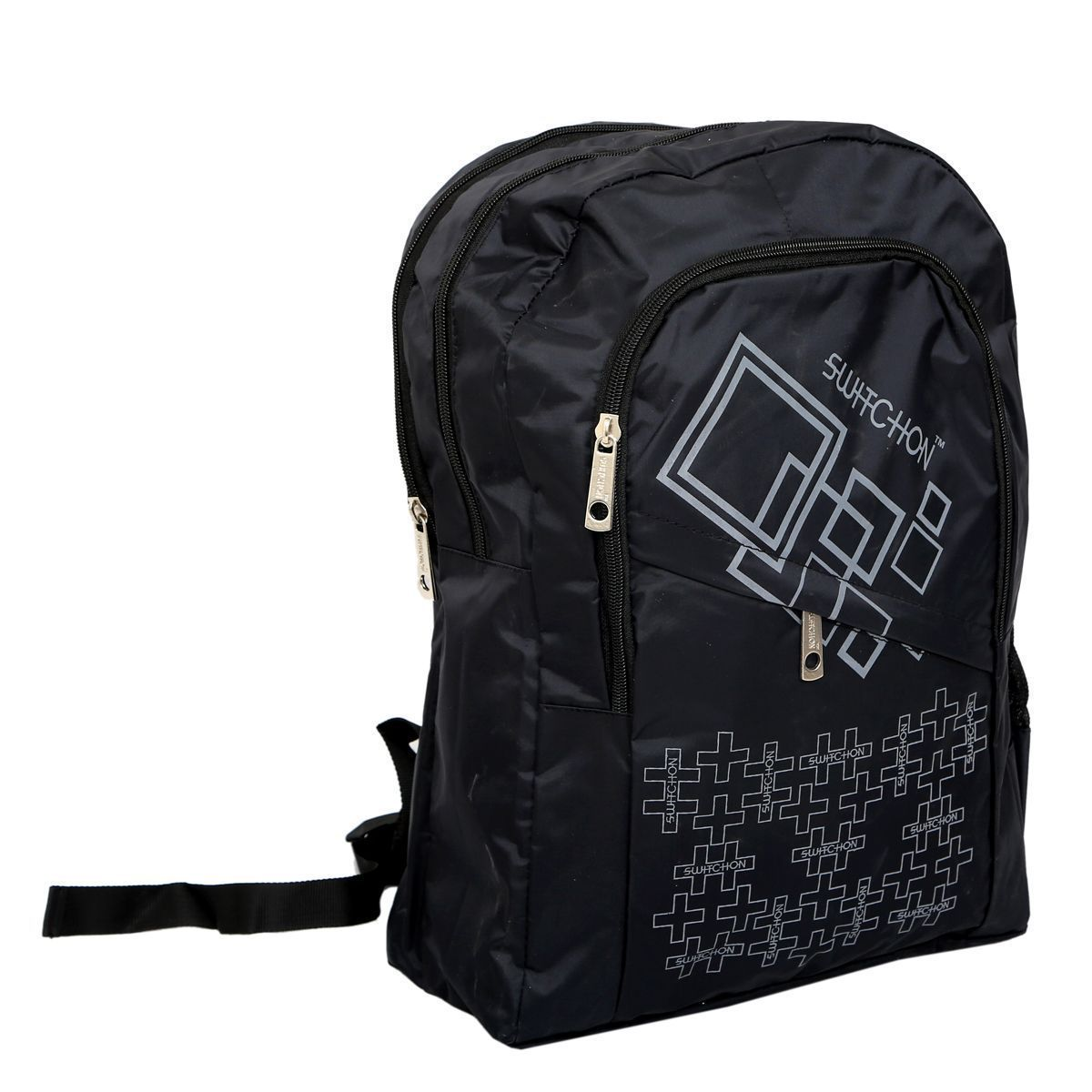 Kuber Industries 25 Ltrs School Bag, Backapack  (Black)-KI19028