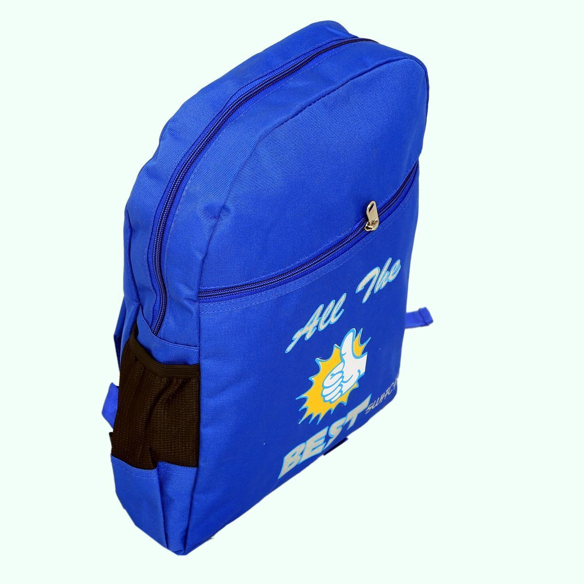 Kuber Industries Junior 15 Litres Kids Tuition Backpack- Blue (5-10 Years)