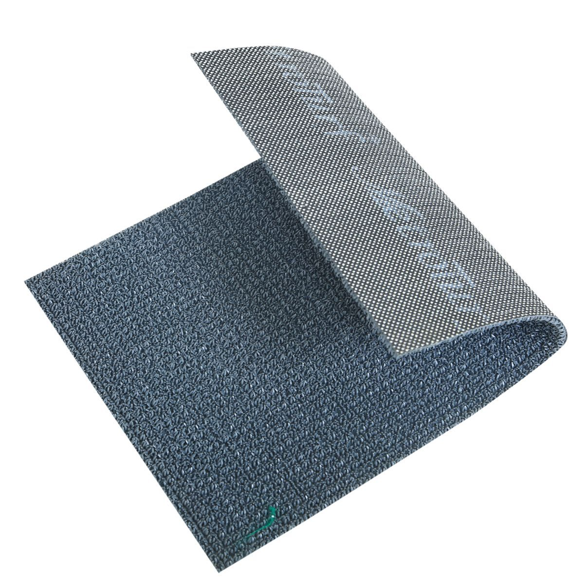 Kuber Industries™ Dirt Rubb Off Clean Footwear PVC Thick Doormat for Offices,Hotel ,Restaurtaurant,Home,Shop Color- Grey (Extra Large) Size : 90 cm x 60 cm x 1.5 cm