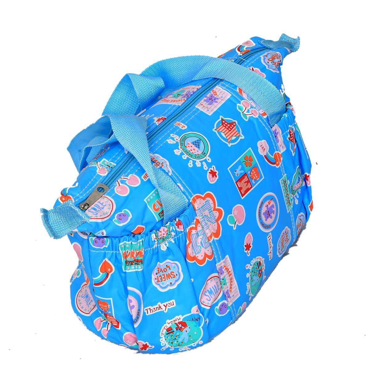 """Kuber Industriesâ""¢ Baby Diaper Nappy Changing Baby Bag Mummy Handbag In Baby Print Imported Material (KI19526) """