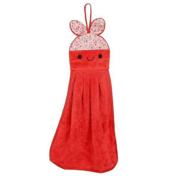 "Kuber Industriesâ""¢ Cute Rabbit Washbasin Hand Towel For Kitchen & Bathroom,Multipurpose Towel (Assorted) - KI19582"