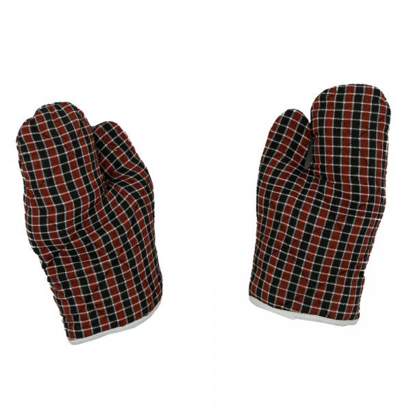 Kuber Industries Cotton Microwave Oven Gloves 18 X 32 CM (Set of 2)(colour might vary according to availability)