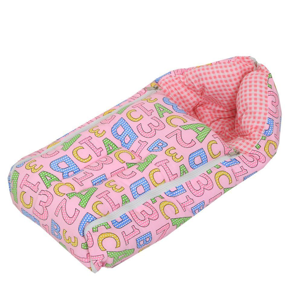 Kuber Industries 3 In 1 Baby Bed Cum Bedding Set/ Baby Carrier/ Sleeping Bag (KI3451)
