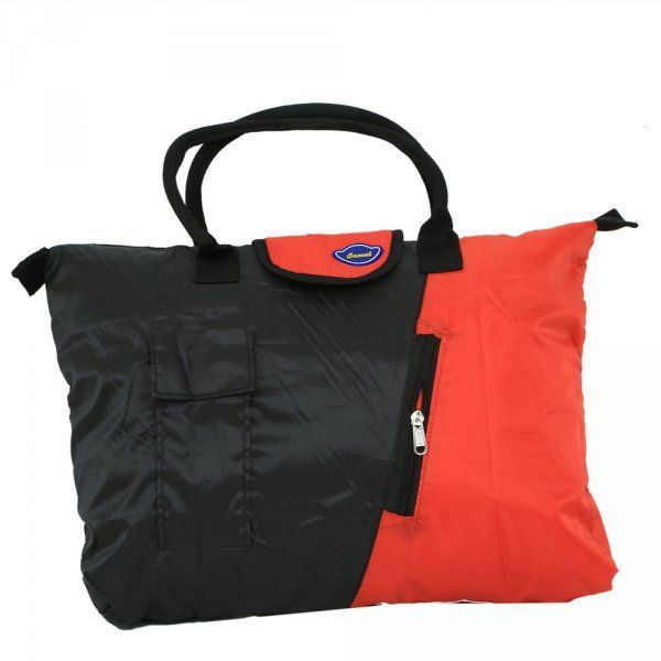 Kuber Industries Waterproof Foldable Shopping Handbag, Travel Bag(colour might vary according to availability)