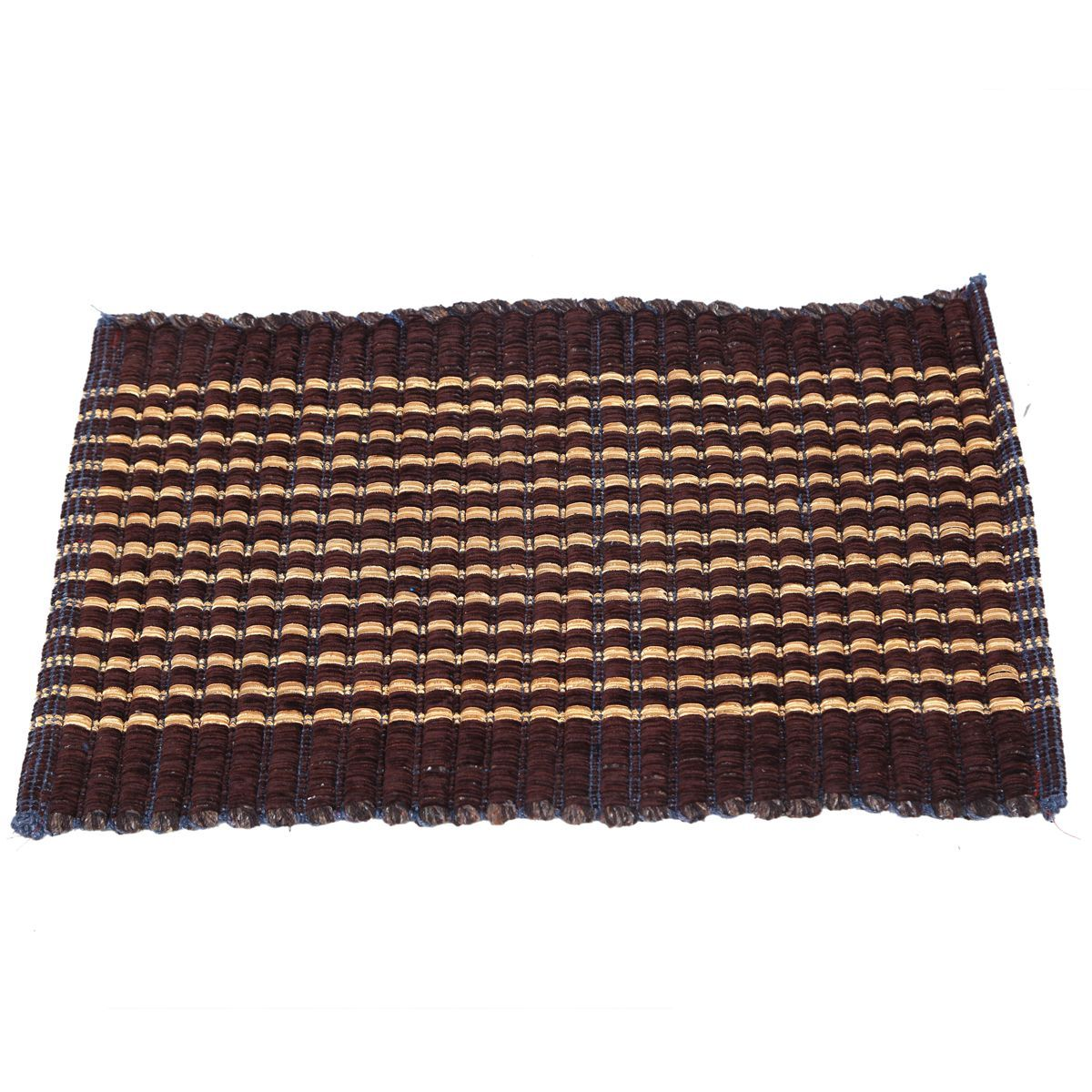 Kuber Industries™ Hand Crafted Style Cotton Blend Door Mat Set of 4 Pcs (Size-60*38 Cm)