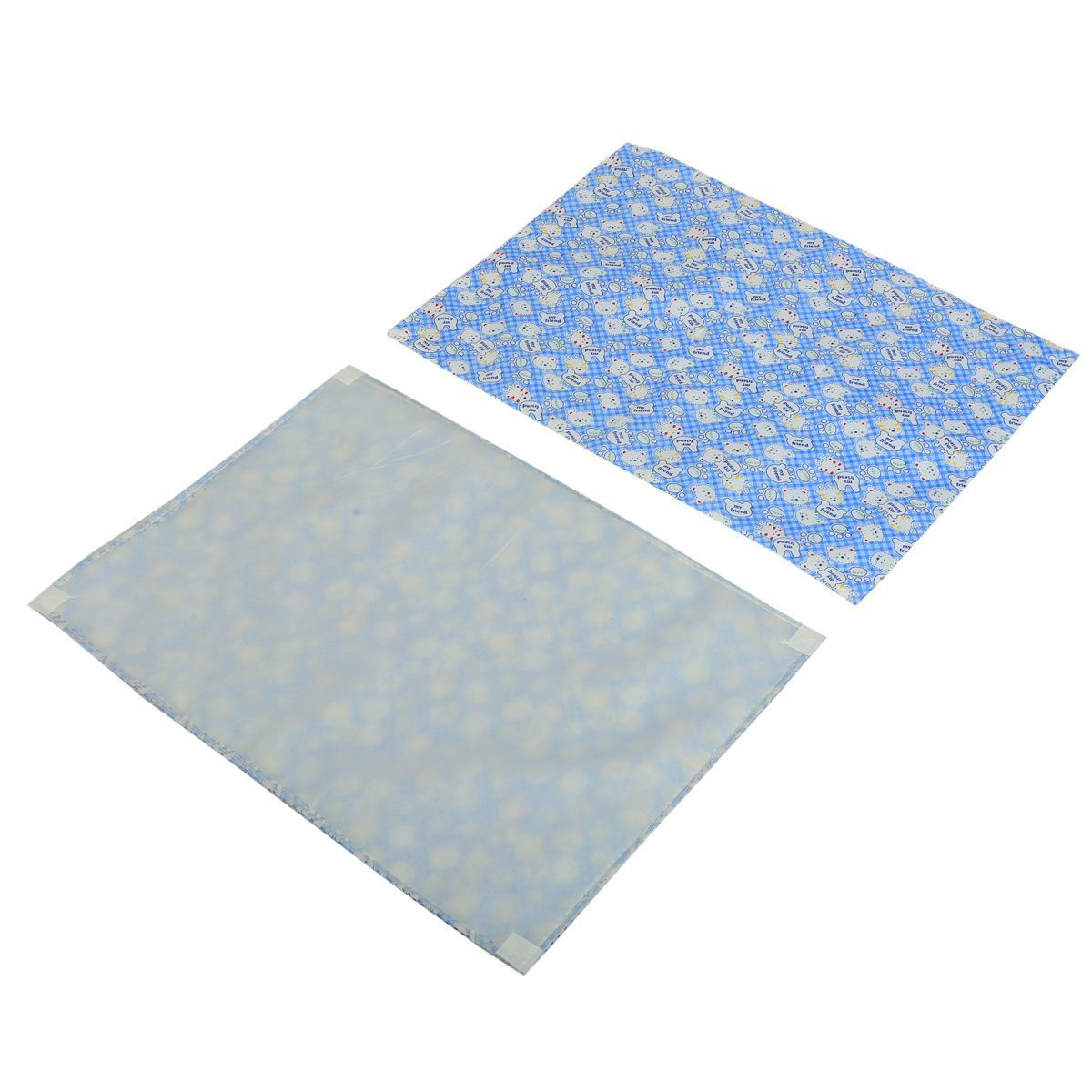 Kuber Industries™ Baby Waterproof Sheets Plastic,Baby Changer Sheet & Cotton Foam Cushioned Sleeping Mat & Changing Mat  (1+3)(Printed) - KUB419