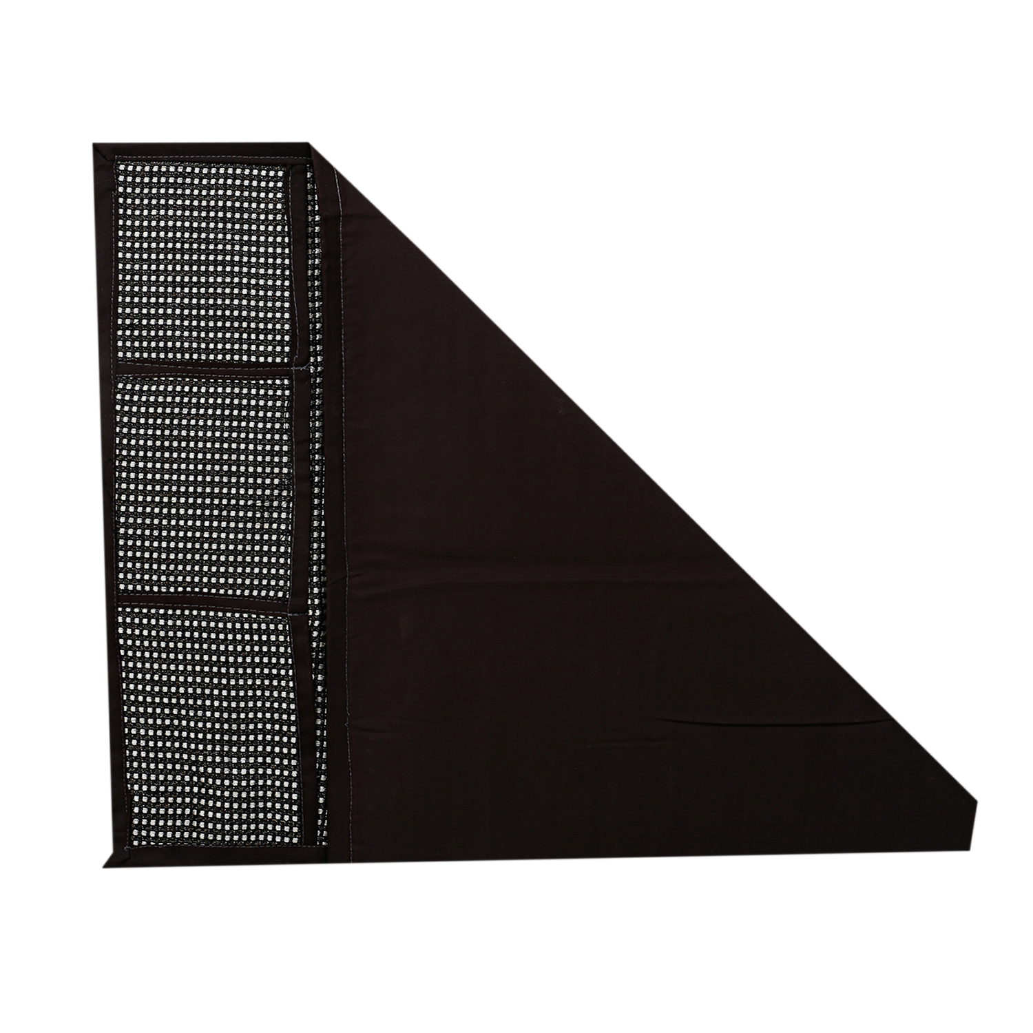 Kuber Industries Cotton Fridge Top Cover (Brown)