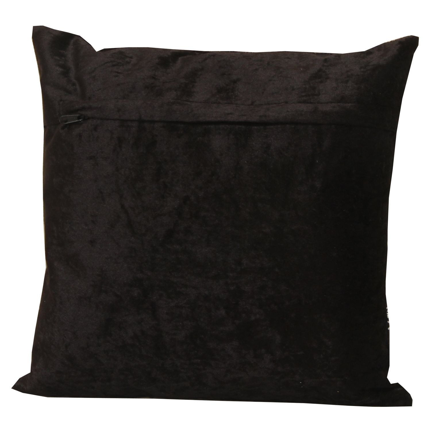 Kuber Industries Velvet 2 Pieces Cushion Cover (Gold)