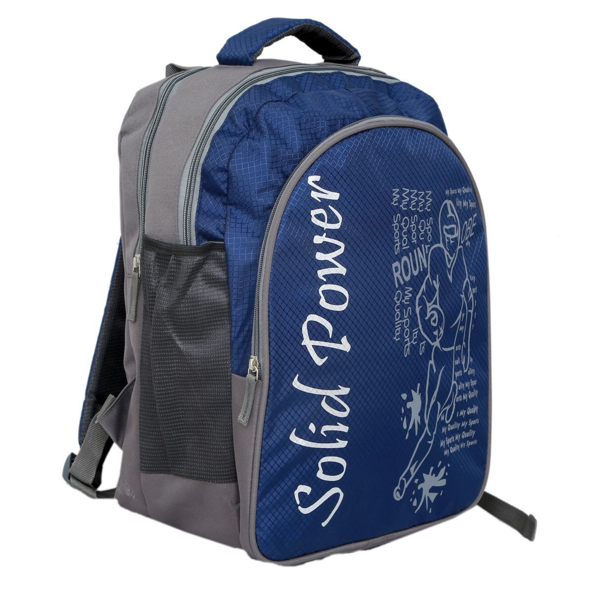 Kuber Industries 30 Ltrs School Bag, Backapack  (Blue)-KI19139