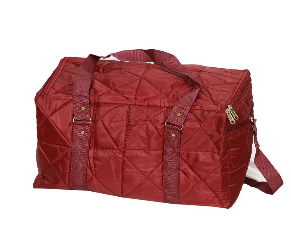 Kuber Industries Travelling Bag , Carry Bag, Duffle Bag In Soft Parachute Material