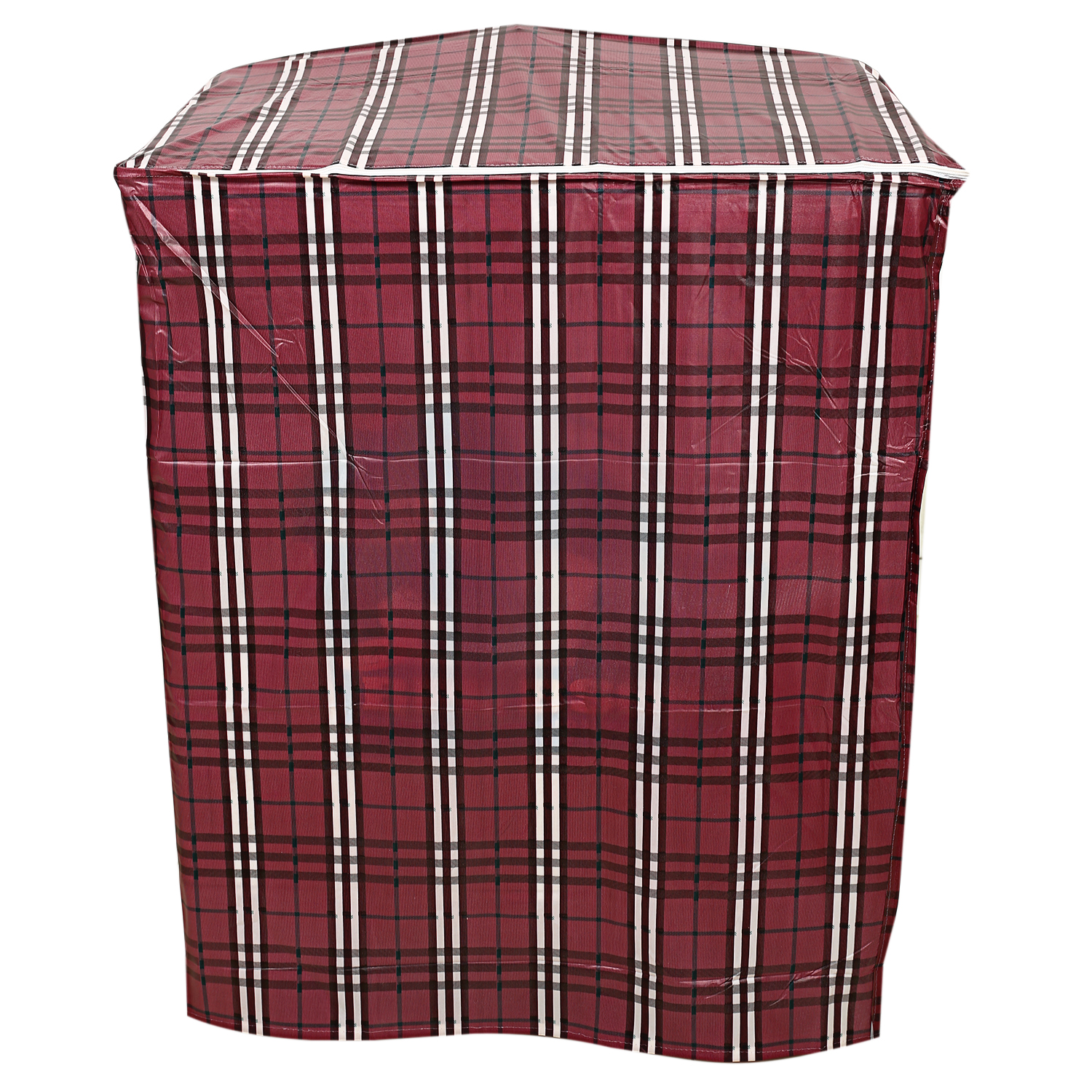 Kuber Industries PVC Top Load Semi Automatic Washing Machine Cover (Maroon)-CTKTC3874
