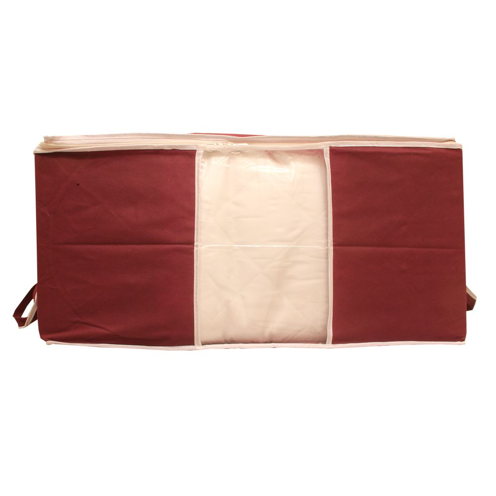 """Kuber Industries Non Woven Underbed Storage Bag, Extra Large, Maroon """