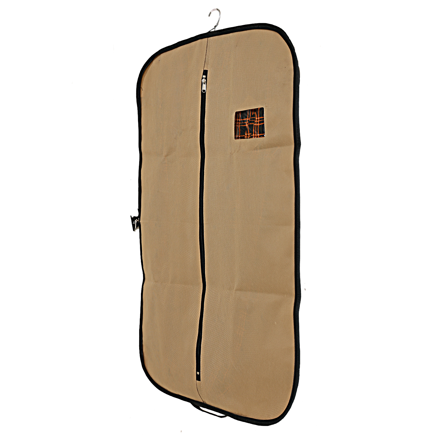 Kuber Industries Foldable Non Woven Coat/Blazer Cover (Brown)
