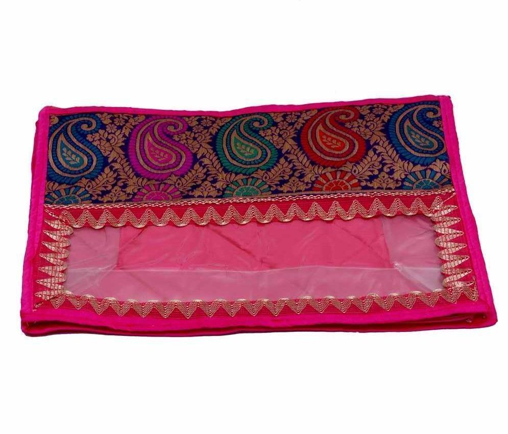 Designer Brocade Saree Cover