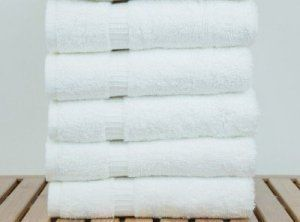 Kuber Industries Cotton Bath Towel Set of 5 Pcs (27*54 Inches White)