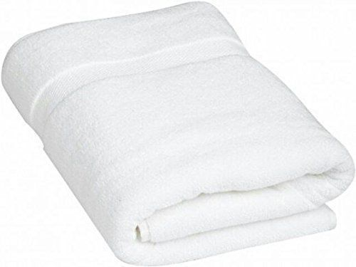 """Kuber Industries Cotton Bath Towel Set of 5 Pcs (27*54 Inches White) """
