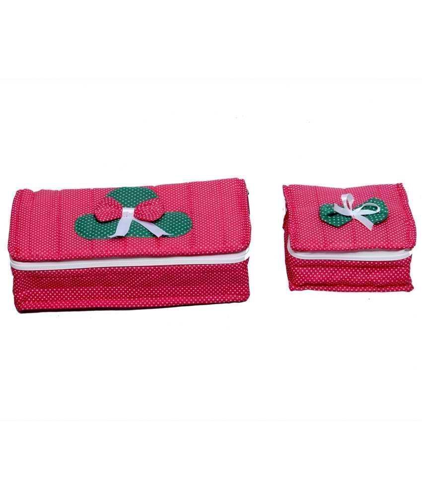 Polka Dots Jewellery Kit 2 Pcs Set (Large+Small)
