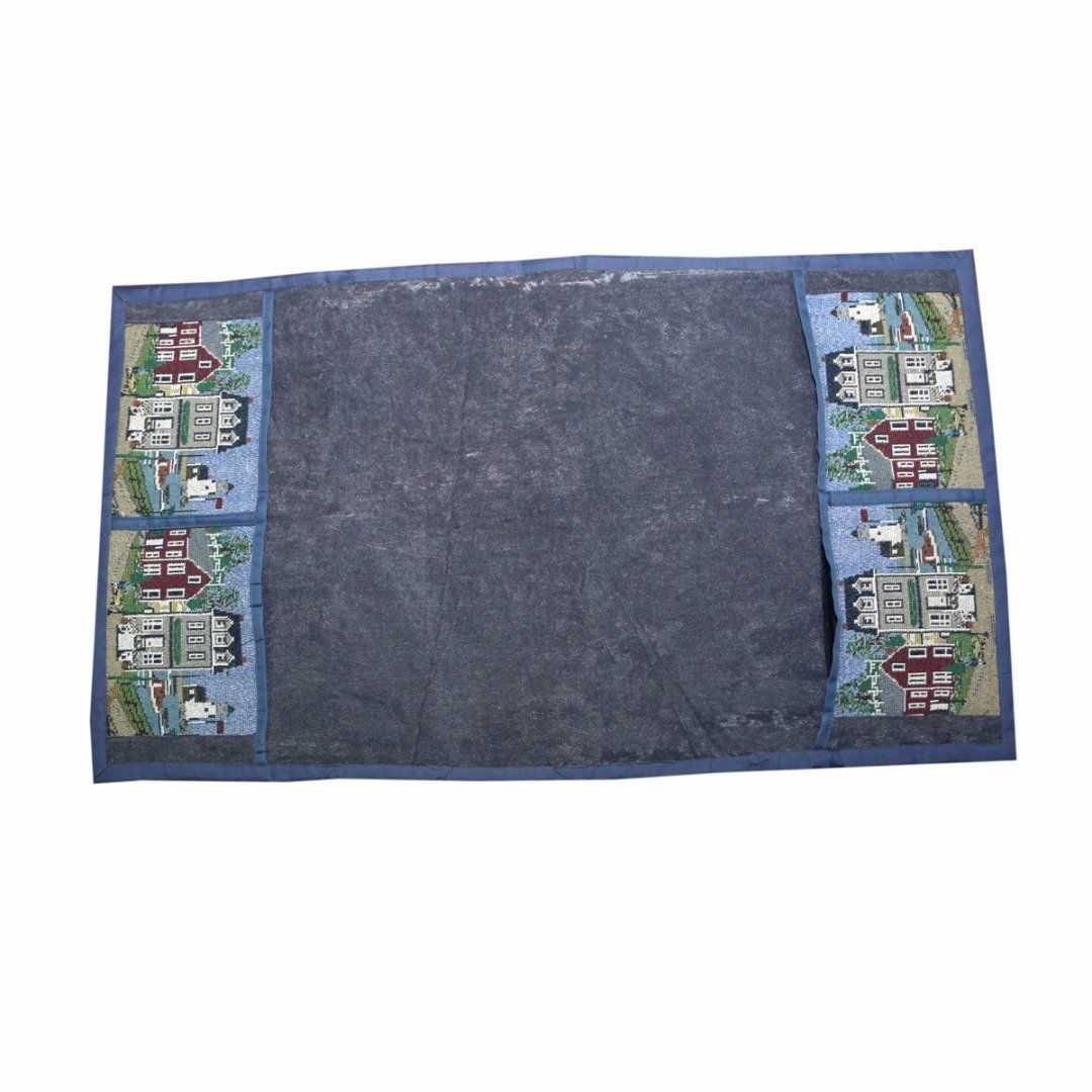Kuber Industries™ Large Fridge Top Cover Suitable for 300 to 400 Ltr in Grey Velvet