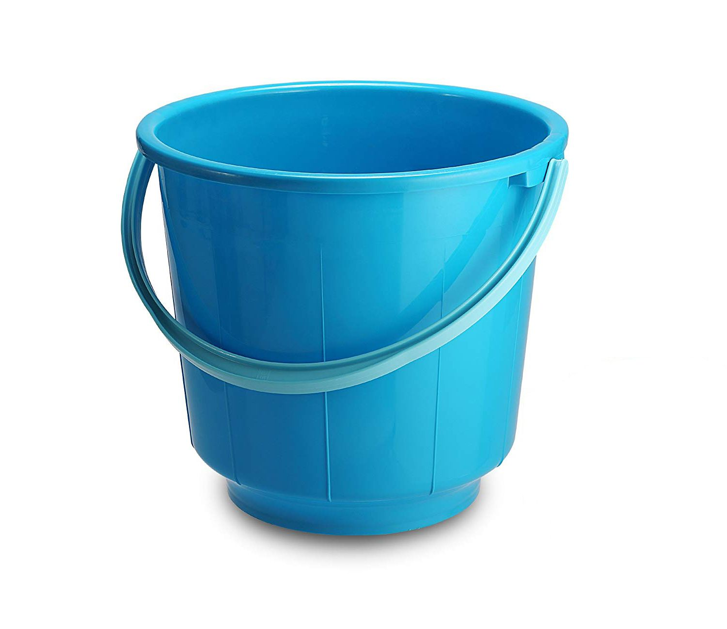 Kuber Industries Plastic 16 Ltr Bucket for Bathroom (Assorted) Set of 4 Pcs