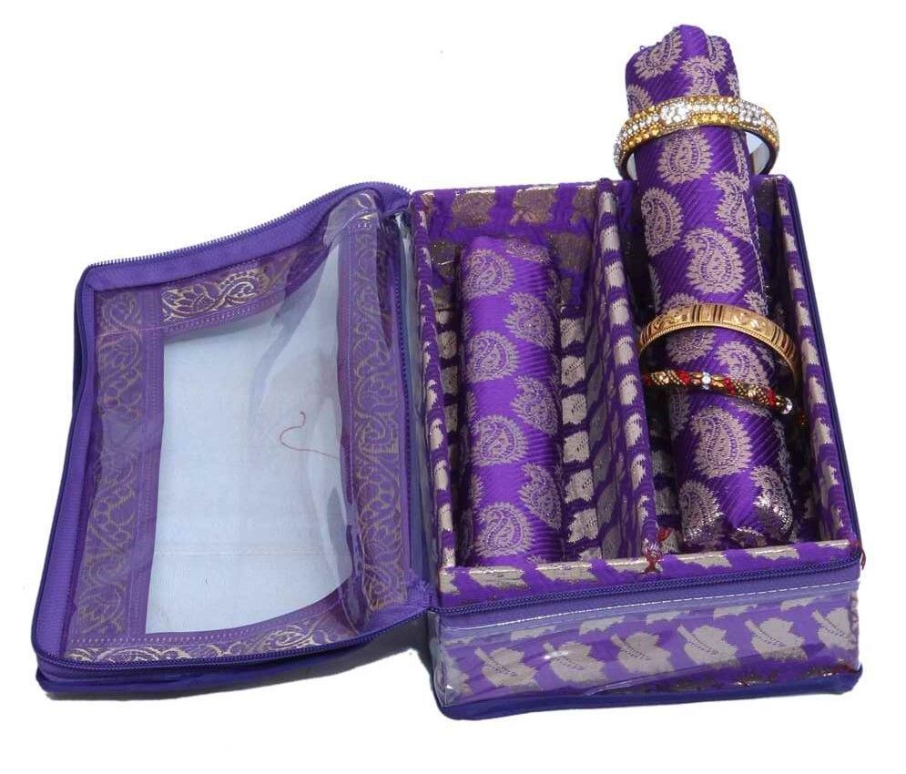 Bangle Box Two Roll In Brocade