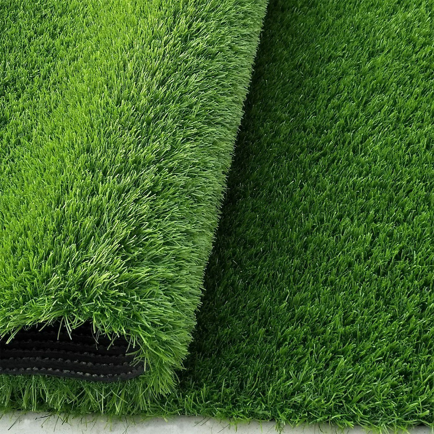 Kuber Industries™45 MM Artificial Grass For Balcony,Grass Carpet Soft And Durable Plastic Turf Carpet Mat, Artificial Grass(3.3 x 11 Feet) 40 x 132 inches