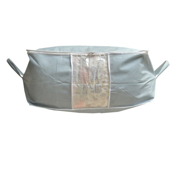 Kuber Industries™ Underbed Storage Bag, Storage Organiser, Blanket Cover- Grey (Extra Large Size) Code-UDB01
