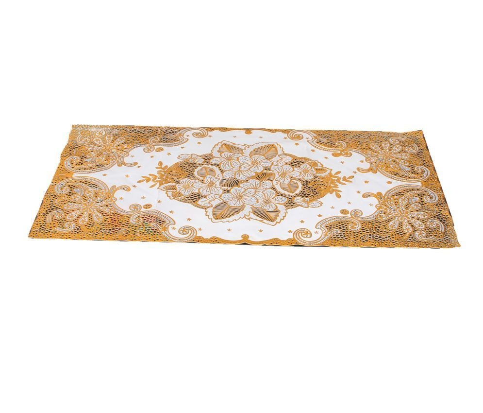 """Kuber Industries Table Runner Virgin Vinyl (Soft Fabric) (print might vary according to availability)"