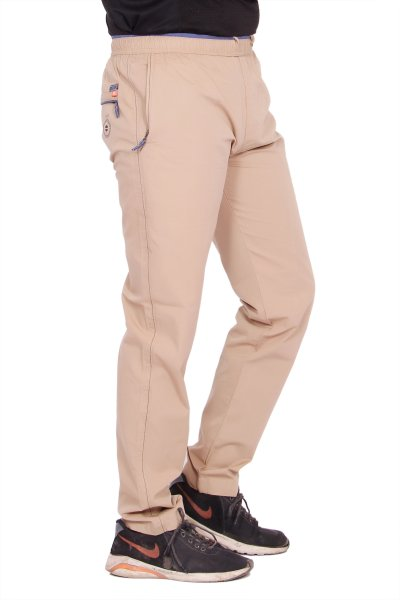Kuber Industries Cotton Pajama Chinkara Lower Track pant for men (Brown)