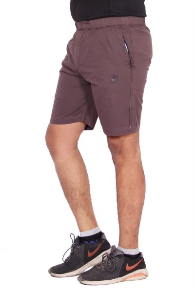 Kuber Industries Cotton Cargo Bermuda shorts for men (Wine)