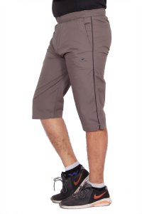 Kuber Industries Cotton Knee Length Capri for men (Green)