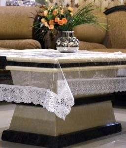 Center Table Cover Transparent
