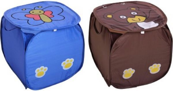 Laundry Basket 2 Pcs Combo