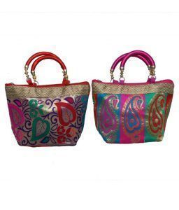 Handbag in stylish design 2 Pcs Combo