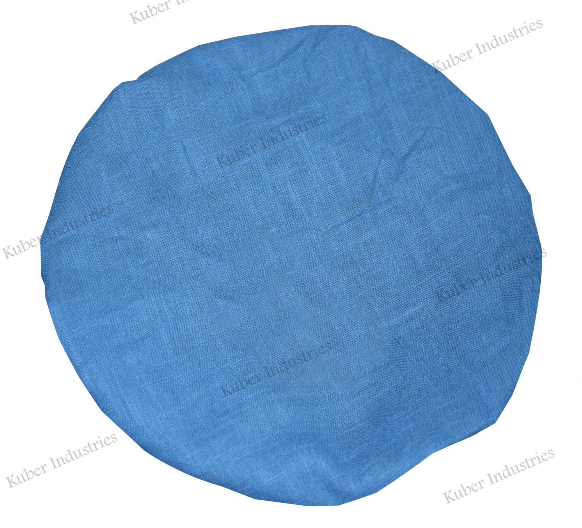 Kuber Industries 100% Cotton Reusable Stretchable Anti Pollution Caps, Surgeon Caps (Pack Of-3, Blue)-CTKTC46341