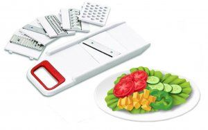 Kuber Industries™ 6 In 1 Multi Purpose Vegetable Slicer Grater (Code-Slicer06)