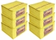 Kuber Industries 6 Pieces Raw Silk Saree Cover Wardrobe Organizer (Yellow)-CTKTC2839