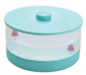 Kuber Industries™ Beans/Grains Sprout Maker – Set Of 1 Pc (3 Compartments) Code-Sprout007