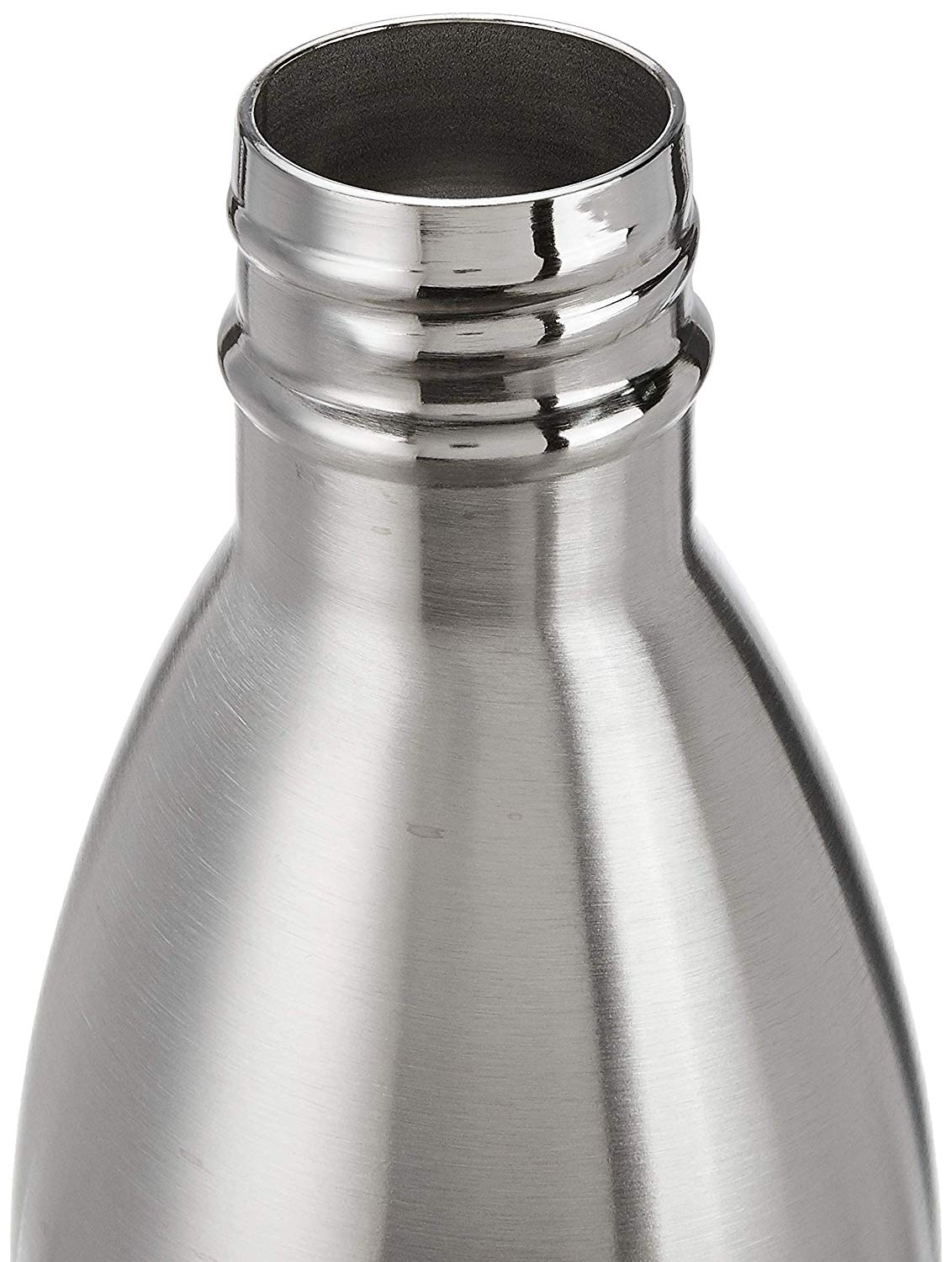 Kuber Industries Cola Stainless Steel 3 Pieces Bottle,1000 ml (Silver) - CTKTC31448