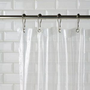 Kuber Industries™ Designer 0.20mm PVC AC Transparent Curtain (Width-54 Inches X Height-108 Inches) 9 Feet (ACCUR017)