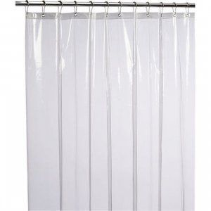 Kuber Industries Designer 0.45mm PVC AC Transparent Curtain (Width-54 Inches X Height-84 Inches) 7 Feet (ACCUR12)