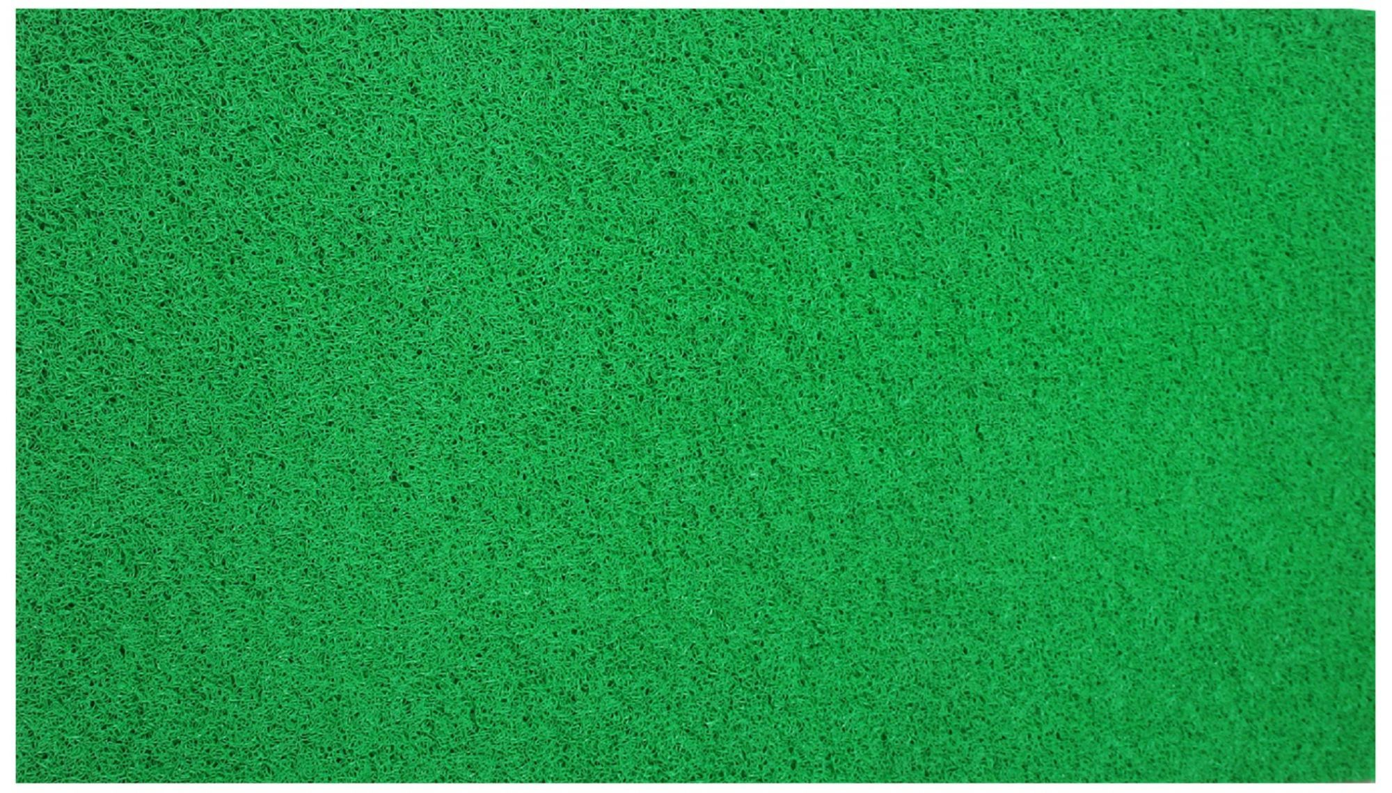 Kuber Industries™ Dirt Rubb Off Clean Footwear PVC Doormat for Offices,Hotel ,Restaurant, Home,Shop Color-Green (Extra Large Size : 24 x 72 Inches)  2 x 6 Feet