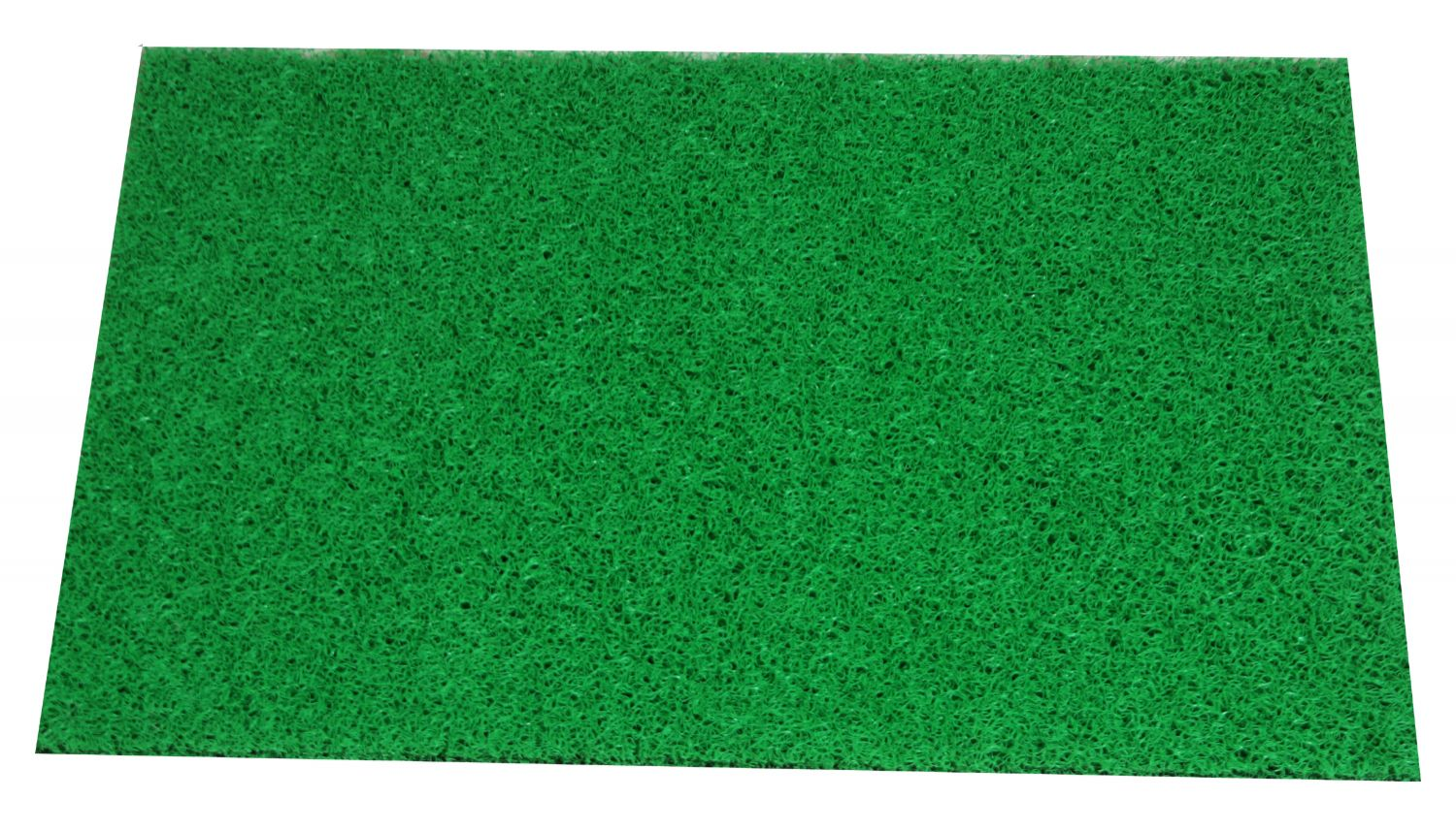 Kuber Industries™ Dirt Rubb Off Clean Footwear PVC Thick Doormat for Offices,Hotel ,Restaurtaurant, Home,Shop Color- Green Size : 60 cm x 38 cm x 1.5 cm (Code-D01)