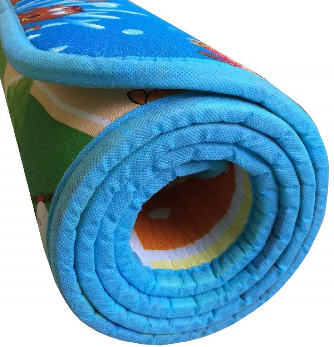Kuber Industries Double Sided Water Proof Baby Mat Carpet Baby Crawl Play Mat Kids Infant Crawling Play Mat -CTKTC32171